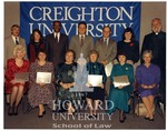 J. Clay Smith, Jr. with other Creighton alumni