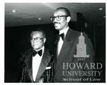 J. Clay Smith, Jr. with Arthur Davis Shores (2 images)