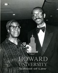 J. Clay Smith, Jr. with Gwendolyn Brooks (Poet Laurate of the U.S.) (2 images)