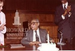 Oliver Hill and J. Clay Smith, Jr. at the Law School
