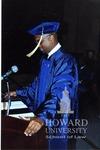 Students speaking at graduation (1/2)