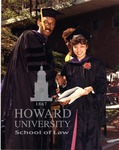 J. Clay Smith, Jr. presenting degrees to Anderson and individual unidentified students (8/10)