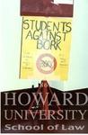 Howard University students protesting Robert Bork (2/4)
