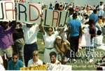 Howard University students protesting the impeachment of Judge Alcee Hastings (3/7)