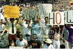 Howard University students protesting the impeachment of Judge Alcee Hastings (4/7)