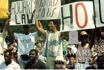 Howard University students protesting the impeachment of Judge Alcee Hastings (5/7)