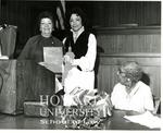 Ollie Mae Cooper, Judge Julia Cooper Mack and Wihelmina Rolark (1/5)