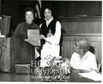 Ollie Mae Cooper, Judge Julia Cooper Mack and Wihelmina Rolark (2/5)