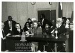 (A) Anthony Kennedy, David Souter, Sandra Day O'Connor, Thurgood Marshall; (B) Thurgood Marshall and J. Clay Smith, Jr.