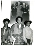 Dorothy Irene Height, with two unidentified girls