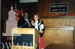 Alice Gresham Bullock, Dean of Howard Law and Johnnie L. Cochran