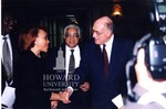 Alice Gresham Bullock, Dean at Howard Law, Donald A. Thigpen, Pres. of Washington DC Bar Assoc., Rufus G. King, III, Chief Judge DC Supreme Court, and Annice M. Wagner , Chief Judge DC Court of Appeals