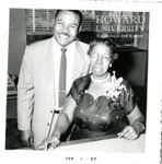 Ollie Mae Cooper with HU law staff member