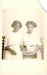 Ollie Mae Cooper and unidentified woman