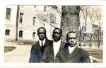 Left to right: Frederick McKinney, Octavious Granady, Robert Owens