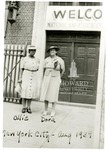Ollie Mae Cooper and Isadora Letcher in New York City