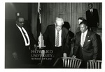 Thurgood Marshall - Moot courtroom at Howard Law