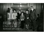 Thurgood Marshall and family (Library of Congress photo)