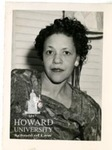 Thelma Perry, graduate of Howard Law School