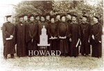 Howard Law Class of 1938, left to right: Joel D. Blackwell, Jawn A. Sandifer, Edwin C. Brown, George E. Cannady, E. Roosevelt Page, Thaddeus B. Rowe, Leroy H. McKinney, Cassandra A. Maxwell, McHenry Kemp, Blanche A. Washington, Harold R. Boulware, Martin A. Mapten, Joseph C. Waddy and Thomas W. Wallace, Jr.