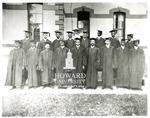 Howard University Class photo of 1898: Joseph Thomas Newsome (fourth from left, 1st row), Tamatsu Fuwa (third from right, 1st row)