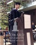 Smith at Law School Graduation