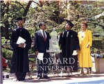 Howard Law Commencment: Smith, Rev. Cecil W. Howard, Sr., Sharon Banks amd Samdra Jackson