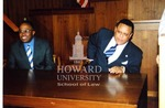 Patrick Sywgert and Kurt Schmoke at the School of Law (w/negatives)