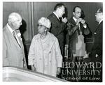 Dedication of the Allen Mercer Daniel Law Library at Howard Univerity Law School: A Mercer Daniel, Ollie Mae Cooper and Spottswood  W. Robinson, II