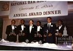 Gertrude E. Rush Award Dinner: J. Clay Smith, Jr., J. Clay Smith, Jr., Hohnnie Cochran, et al., 3 images image 1