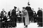 Receiving Honorary Degreee from Harvard