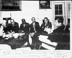 Dr. Luther Foster, Dr. Mays, William Trent, A.W. Dent, President Kennedy