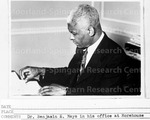 In His Office at Morehouse