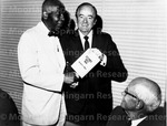 With Mr. Hubert Humphrey at Morehouse Commencement