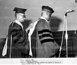 Morehouse College confers the degree of Doctor of Human Letters upon Dr. Mays