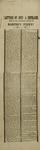 Copeland, John A. Letters of John A. Copeland... Broadside, 1859