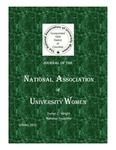Journal Of The National Association Of University Women - Spring 2015