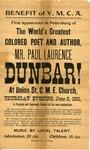 Dunbar, Paul Laurence.