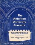 Warfield, William.