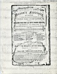 Masonic Fraternity of Boston under the jurisdiction of the Prince Hall Grand Lodge will give a grand picnic at Spy Pond Grove, on Monday, Aug. 29, 1870.