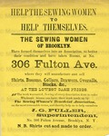 The Sewing Women's Beneficial Association.