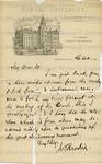 Rankin, Jeremiah Eames, Letter.