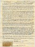 Sanborn, Franklin Benjamin, 1831-1917, Letter.