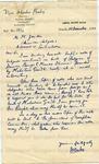 Bailey, Vijai Shanker, Letter.