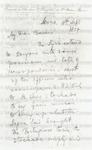 Livingstone, David, Letter.