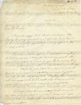 Manning, Arty, Pvt., Letter.