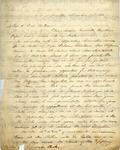 Payne, John S., Bishop, Letter.