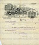 Hoelsey, W.H.J., Letter.