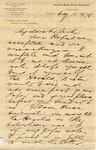 Sanborn, F. B., Letter.