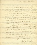 Harper, Robert G, Letter.